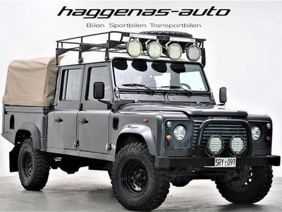 begagnad Land Rover Defender 130 Dubbelhytt / TD5 / MOMS