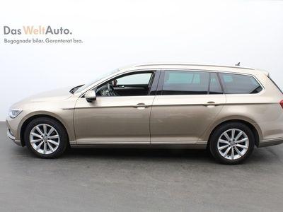 gebraucht VW Passat Sportscombi SC TDI190 DSG6 4M GT / P-Värmare / Drag / Executiv