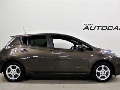 begagnad Nissan Leaf 30 kWh 109hk GPS BACKKAMERA