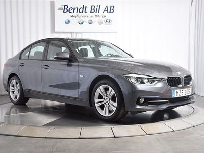 begagnad BMW 320 d Sedan Steptronic Sport line Euro 6 190hk