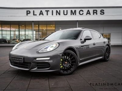 begagnad Porsche Panamera S E-Hybrid E- / LEASEBAR / SportDesign