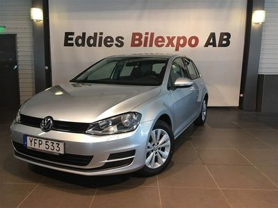 begagnad VW Golf 1.4 TSI MultiFuel Style Euro 6 2017, Personbil 119 900 kr