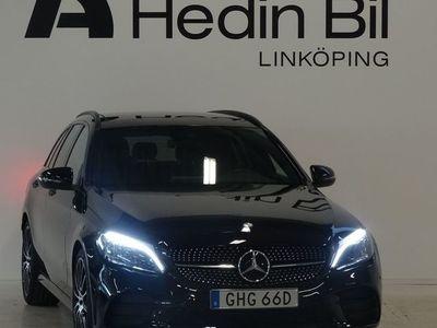 begagnad Mercedes 220 C-KlassAMG Navi Värmare Panoramatak Dragkrok