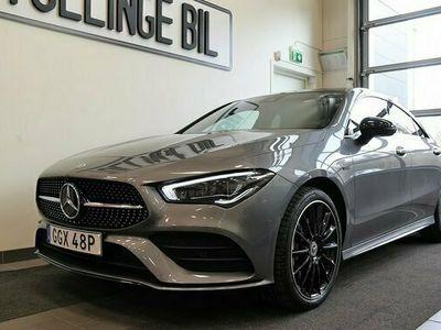begagnad Mercedes E250 CLA BenzAMG Sport Exclusive Widescreen 2021, Sportkupé Pris 499 900 kr