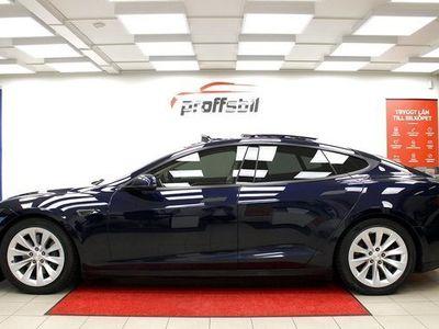 begagnad Tesla Model S Model X85 Single Speed 7-sits Panorama Leasebar 2013, Sedan 429 500 kr