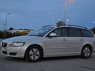 begagnad Volvo V50 Kinetic 115hk Nybesiktad Nyservad