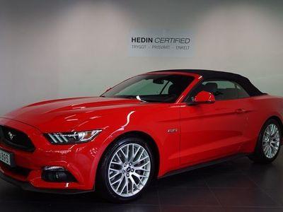 begagnad Ford Mustang GT GT Convertible 5.0 V8 SelectShift / / Låga skatten 4250: - / / 421hk