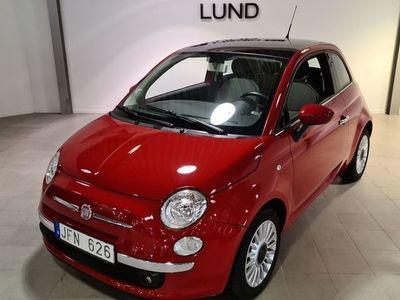 begagnad Fiat 500 500 1.2 Manuell, 69hk Lounge