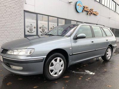 begagnad Peugeot 406 2,0 AYTOMAT BESIKTAD ACC DRAG GÅR