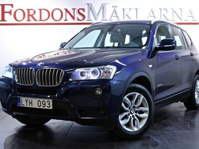 begagnad BMW X3 28i xDrive AUT 1-ÄGARE 3-ÅRS GARANTI