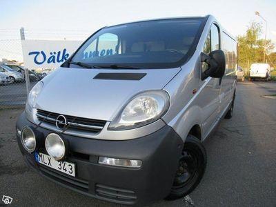 used Opel Vivaro Van 1.9 dCi 101hk -06
