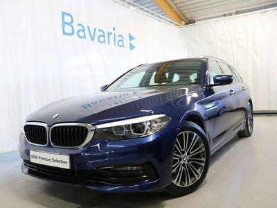 begagnad BMW 520 d xDrive Touring Sportline, Connectedpaket