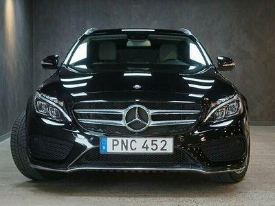 begagnad Mercedes C180 T 7G-Tronic Plus AMG Navi Drag Nyservad