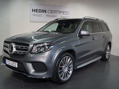 begagnad Mercedes GLS350 - Benzd 4MATIC AMG Paket / Distronic / Vinter paket / SUV paket 9G - Tronic 7 - sits 258hk