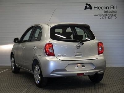 begagnad Nissan Micra Acenta 80hk Halvkombi