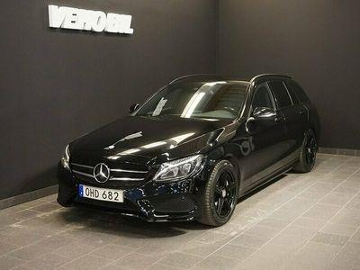 begagnad Mercedes C220 d AMG Backkamera Värmare Aut Nav
