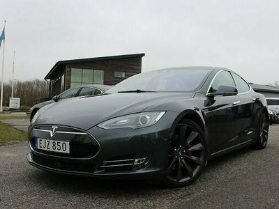 begagnad Tesla Model S Model XP85D Performance Ultra-Hifi Fri laddning Autopilot 2015, Sedan Pris 599 900 kr