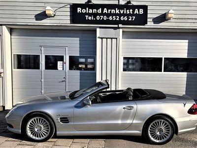 usata Mercedes SL55 AMG AMG 500hk Svensksåld