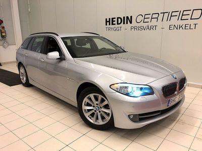begagnad BMW 520 5 d Touring ink. v-hjul & krok 2012, Personbil 138 000 kr