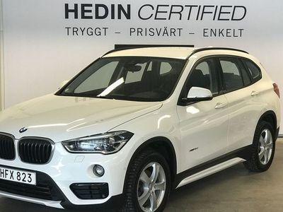 begagnad BMW X1 X-Drive 18d S&V-Däck
