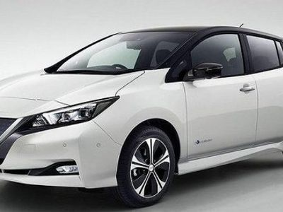 begagnad Nissan Leaf halvkombi, TEKNA/ 40kWh/ OMGÅENDE LEVERANS el automat, FINNS I FLERA FÄRGER,