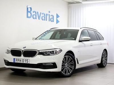 brugt BMW 520 d xDrive Touring Sport Line Connected Winter Nav Drag