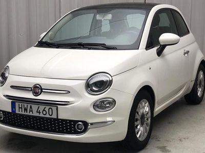 begagnad Fiat 500 1.2 2015, Halvkombi 65 000 kr