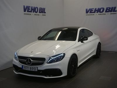 begagnad Mercedes C63S AMG AMGCoupé AMG Night Backkamera Navi