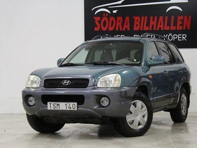 begagnad Hyundai Santa Fe Ny Besiktigad,2.4 4WD 145hk