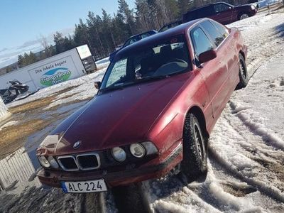 begagnad BMW 518 e34 i trimmad