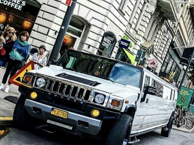 begagnad Hummer H2 LIMO BUS