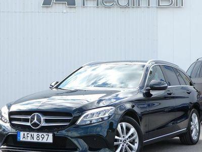 begagnad Mercedes C200 T 9G-Tronic DRAG LED-HIGH Navi