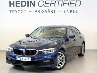 begagnad BMW 530 d xDrive Sedan Sport Line Connected Adaptiv farthållare