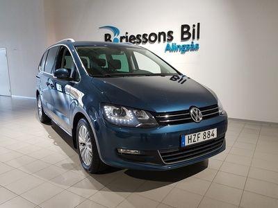 begagnad VW Sharan TDI 150hk 4MOTION 7-sits
