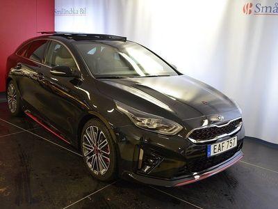 begagnad Kia pro_cee'd GT 1.6 T-GDI DCT Euro 6 204hk Panoramaglastak