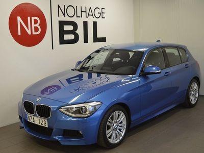 begagnad BMW 120 d 5-door M Sport (184hk)