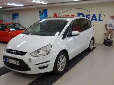 begagnad Ford S-MAX 2.2 TDCi Powershift 7-sits 200hk