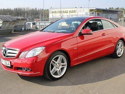 brugt Mercedes E250 Coupé BlueEFFICIENCY 5G-Tronic 204hk