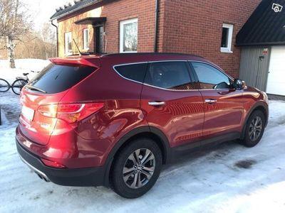 begagnad Hyundai Santa Fe 4WD Premium aut läd -13
