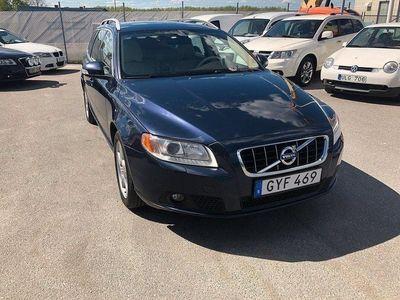 begagnad Volvo V70 D5 AWD Drag Skinn Värmare Ny Servad