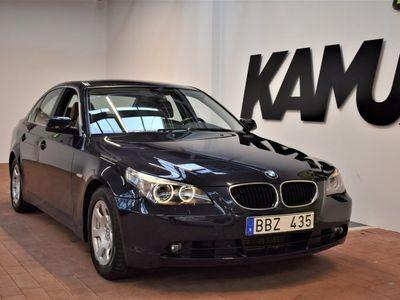 begagnad BMW 520 D | Skinn | Sedan | Nyservad