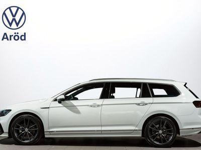 begagnad VW Passat TDI 190 DSG 4M R-Line Black & White Edt