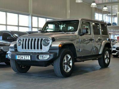 begagnad Jeep Wrangler Unlimited Sahara 2.2 CRD 4WD Aut 200hk