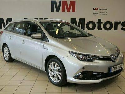 begagnad Toyota Auris Sports Hybrid 1.8 VVT-i + 3JM VÄRMARE 136hk