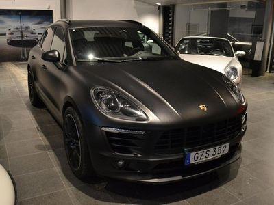 begagnad Porsche Macan S Diesel Sport Chrono 258hk