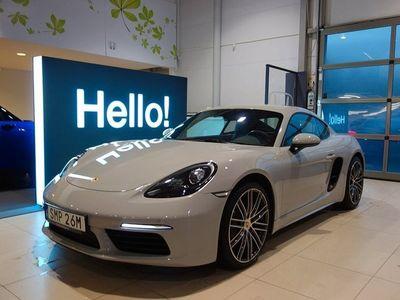 begagnad Porsche 718 Cayman PDK 300HK Svensksåld