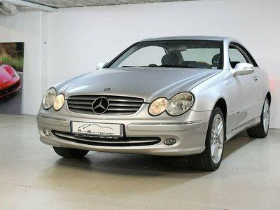 begagnad Mercedes CLK240 Coupé Automat Elegance 170hk V6