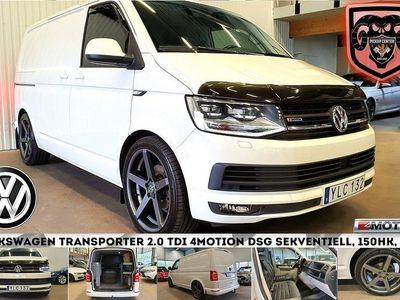 begagnad VW Transporter 2.0 TDI 4Motion DSG ( 3295:-/ mån + moms)