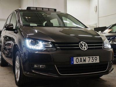 begagnad VW Sharan TDI Panorama Navi Premium 7-sits Drag 150hk