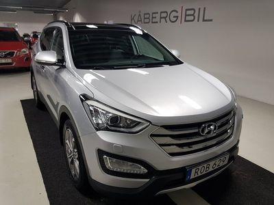 begagnad Hyundai Santa Fe 2.2 CRDi 4WD / Aut / Panorama